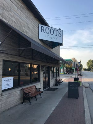 Roots Eatery and Pub is located at 114 N Range Street in Wolcott.