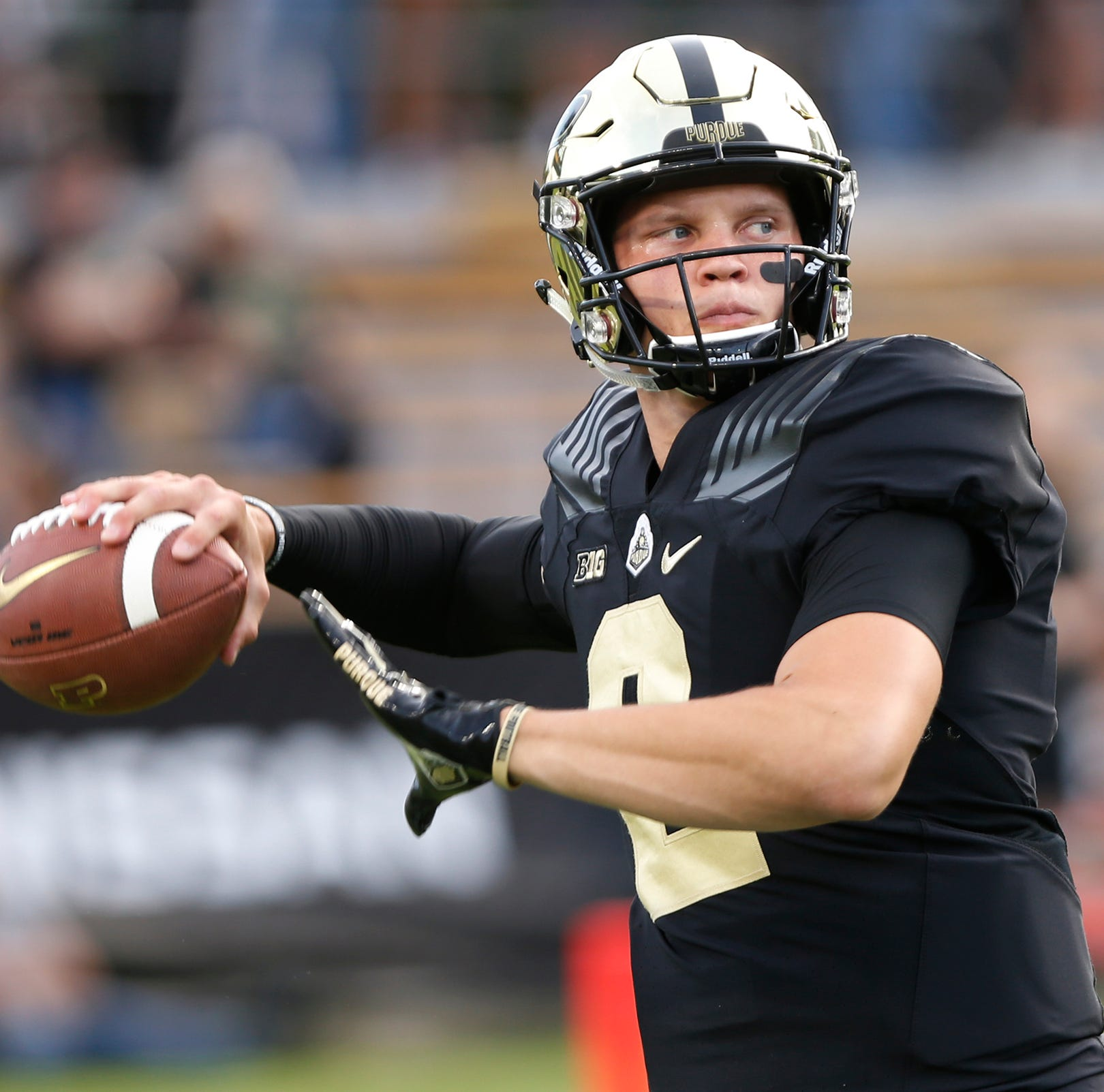 Purdue quarterback Elijah Sindelar talks knee issues and potential sixth year