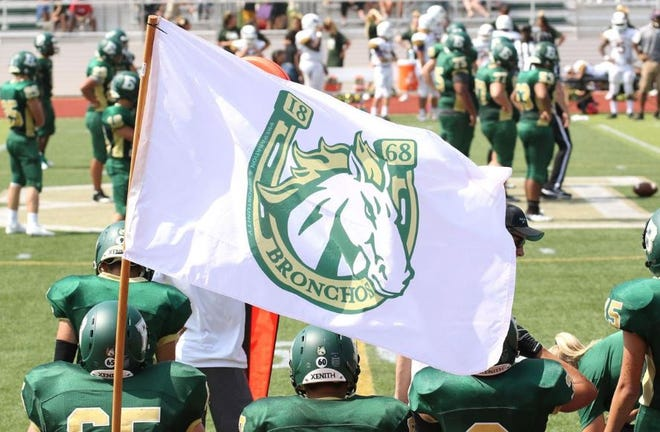 The Bayless High School Bronchos in St. Louis played the first varsity football game in school history last weekend. The school has the distinction of sharing the spelling of Bronchos with Lafayette Jefferson High School.