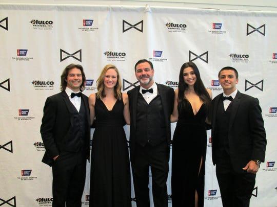Chad Chaisson, Stephanie Hundley, Matt, Jeana and Jake Chaisson