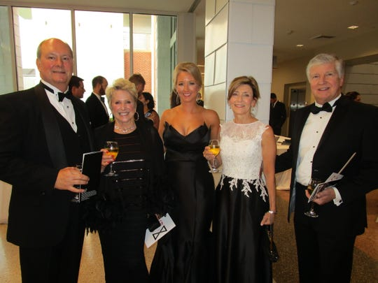 Mitch and Sandy Landry, Sara Zuschlag, Phil and Robyn Boudreaux