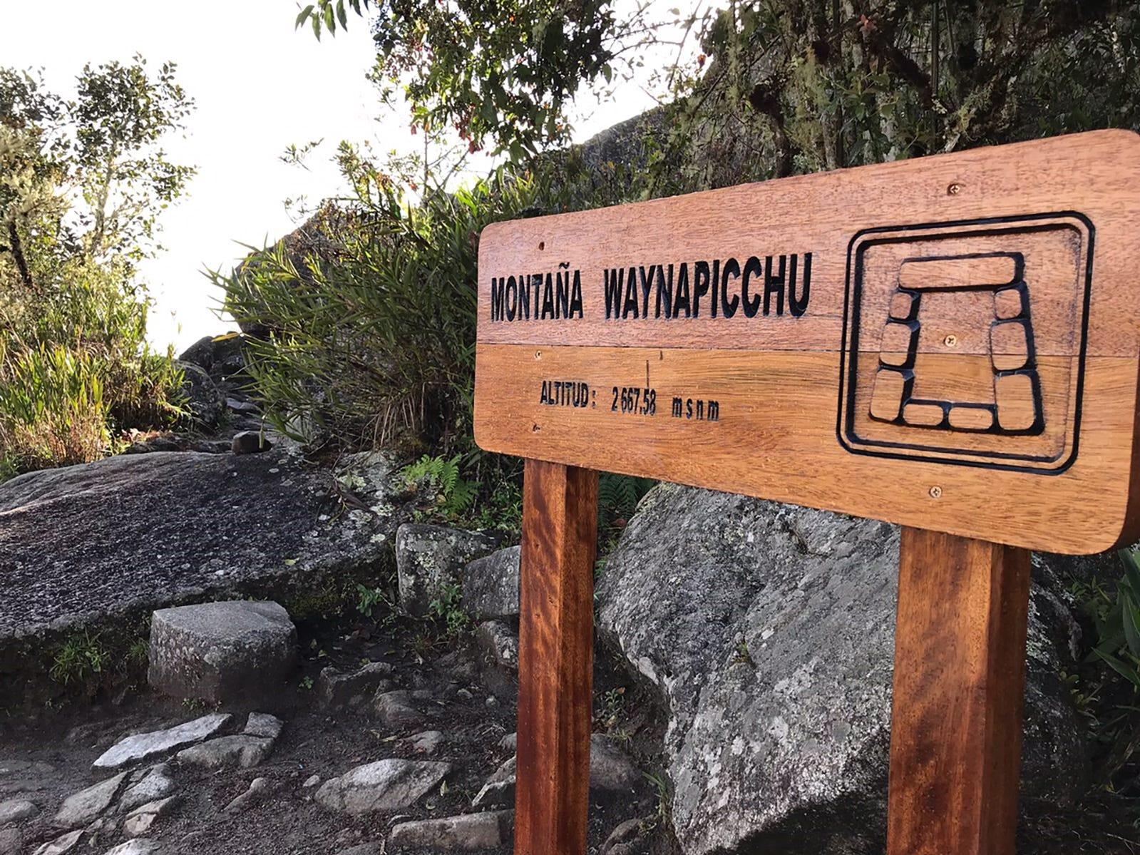 Photos from Machu Picchu