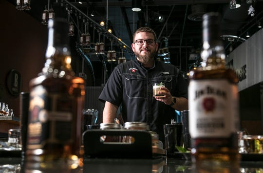 Alex Hall, lead ambassador at the Jim Beam Urban Stillhouse on 4th Street, knows how to get most out of whiskey cocktails. August 30, 2018