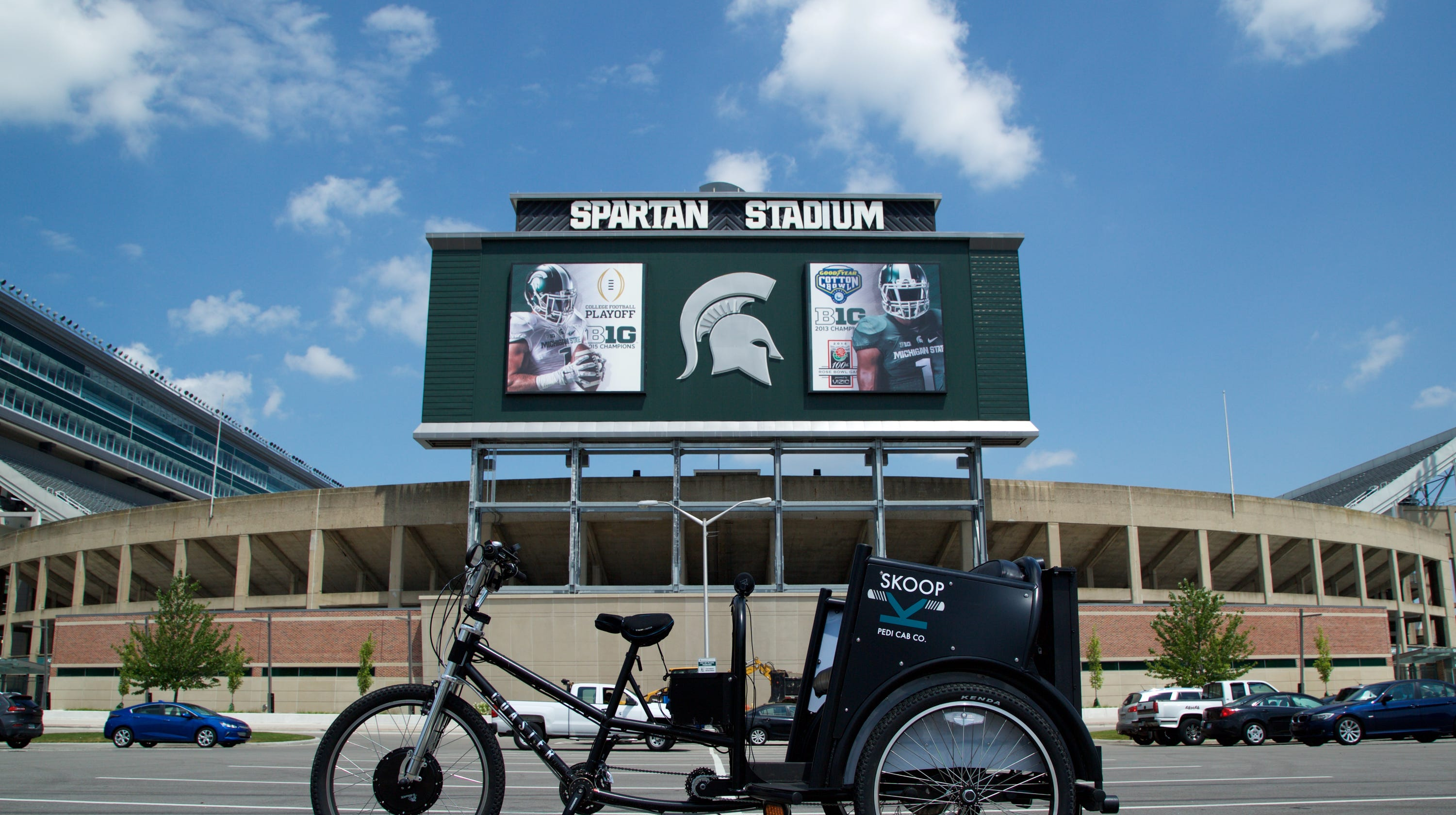 Parking at MSU: Where to park for football games