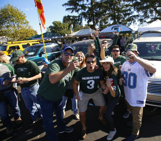 Thousands of fans are expected to pack Spartan Stadium this football season. The stadium's capacity is about 75,000.