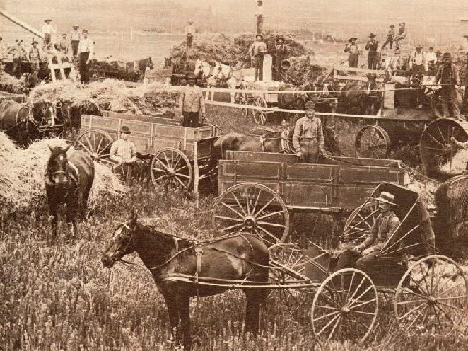 Manitowoc County history: Remembering threshing on Wisconsin farms in 1920s