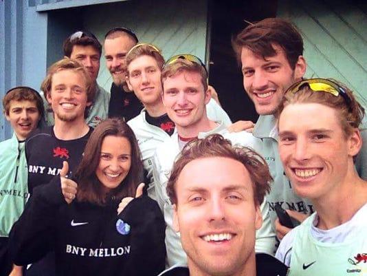 Cambridge Varsity Rowing Team W Pippa Middleton