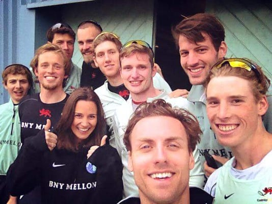 Cambridge Varsity Rowing Team W Pippa Middleton