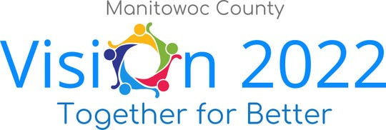 Manitowoc County Vision 2022 logo