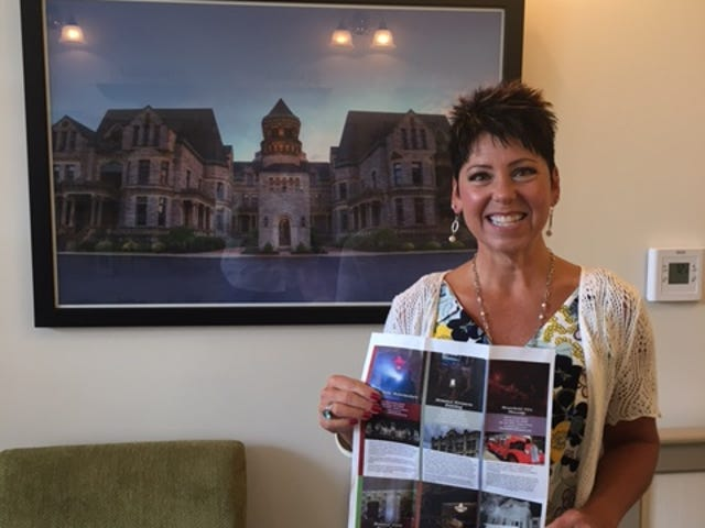 Jodie Snavely of Destination Mansfield will be traveling to Lexington, Kentucky Sept. 14 to setup a booth showcasing five haunted sites in Mansfield and one in Galion where paranormal investigators might want to visit.