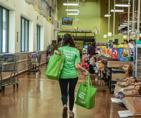 Memphis-area Kroger stores launched same-day grocery delivery on Thursday.