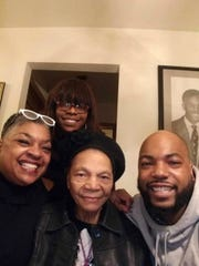 Brenda Bryant (from left) of Milwaukee with her mother Joyce Bryant and son, Sharod. Daughter Blainell Bryant is in back.