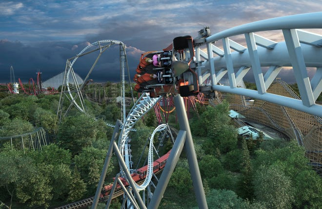 Maxx Force will be Six Flags Great America's 17th roller coaster.