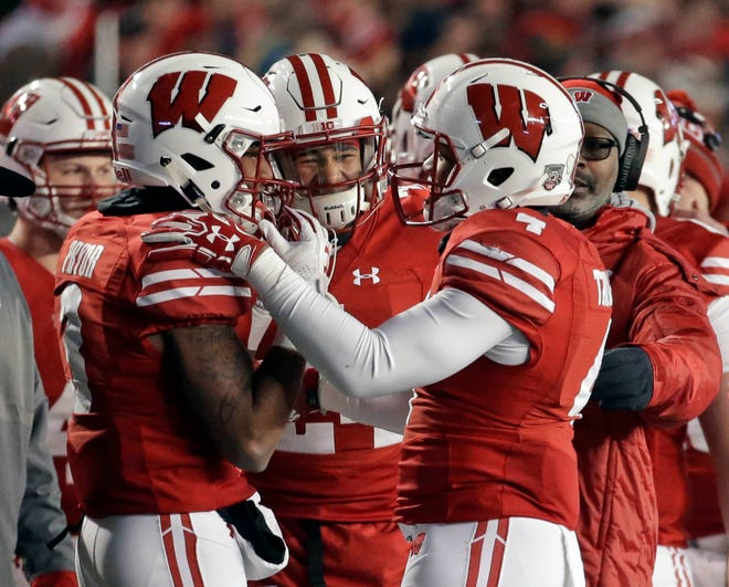A.J. Taylor, left, and Kendric Pryor, right, are UW's top two receiving threats, but they'll need support.