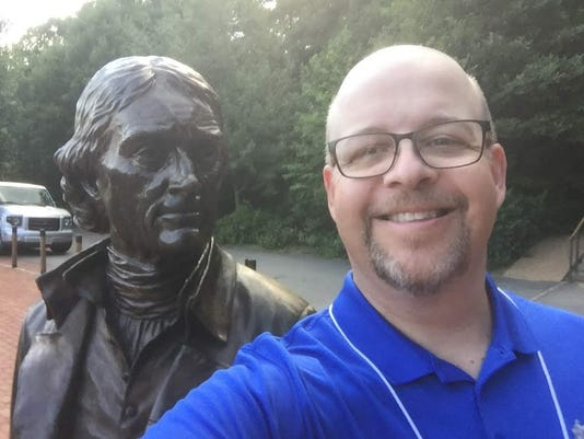 Thomas Jefferson Selfie