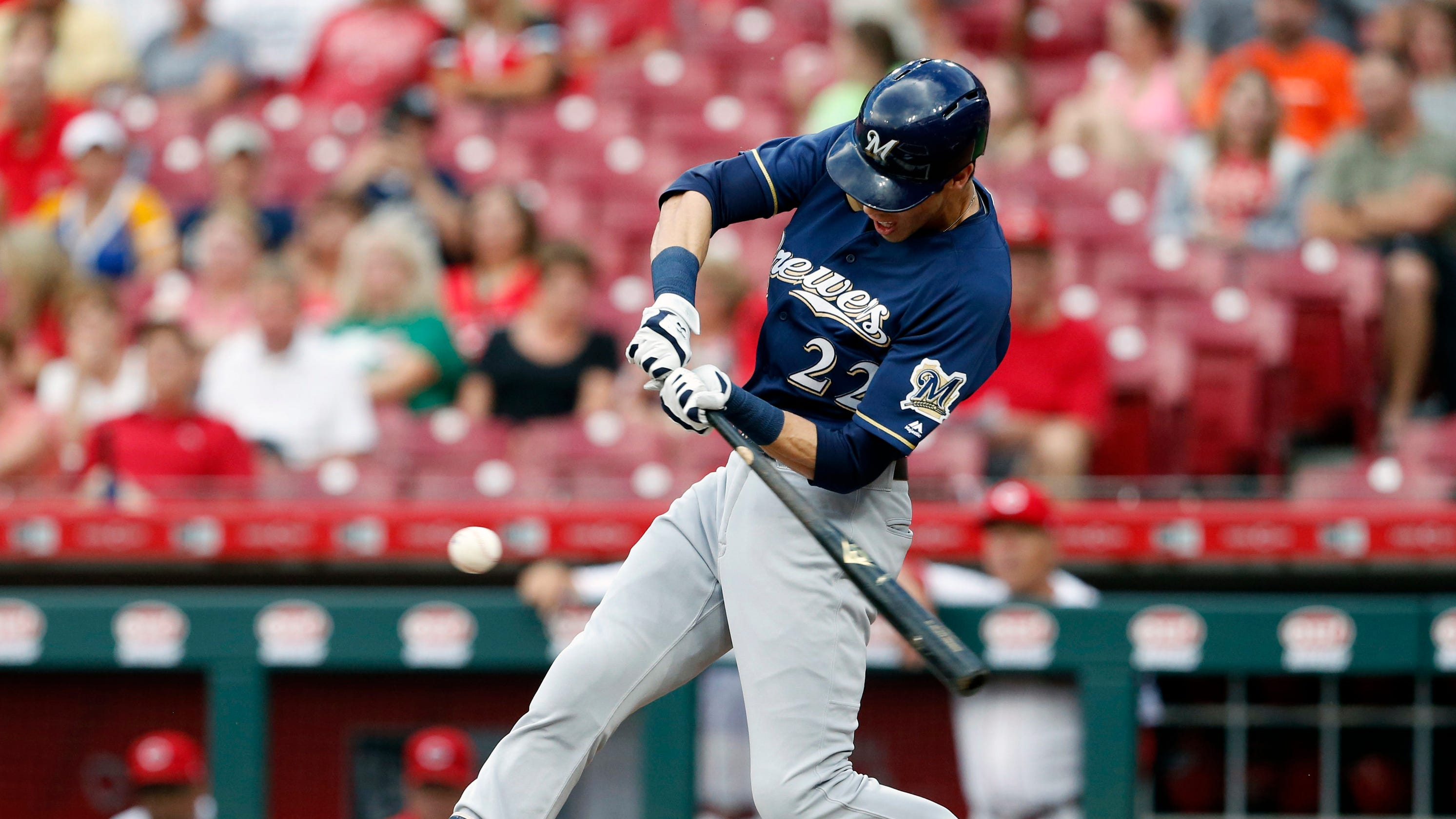 wholesale dealer 0cc64 3b11c Ode to the other 3 Milwaukee Brewers to hit for the cycle ...