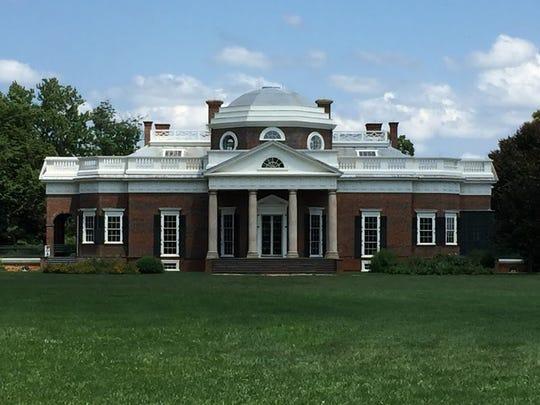 Monticello was the estate Thomas Jefferson built.