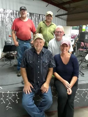 Backwood Rebel will perform in downtown Yellville on Saturday night.