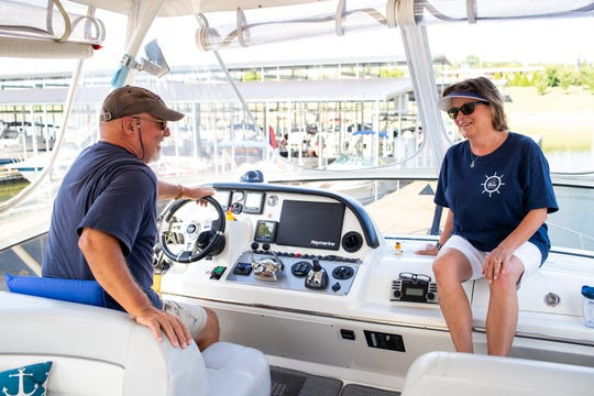 After running a chain of automotive repair shops for 30 years before retiring in 2014, Ron and Karen Atkisson spent years saving money for their 7,000-mile voyage, and officially began planning to complete the Great Loop more than three years ago.