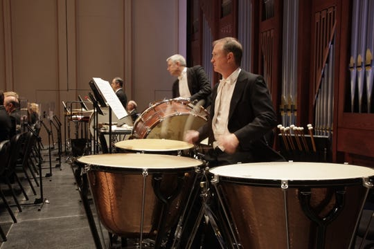 Enjoy the sounds of percussion with the Naples Philharmonic during the Magic Carpet Family Concert on Sunday.