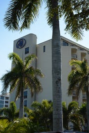 The Hilton Marco Island Beach Resort & Spa on Marco Island.