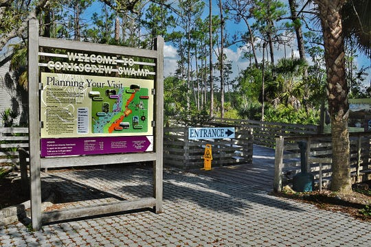 The Corkscrew Swamp Sanctuary.