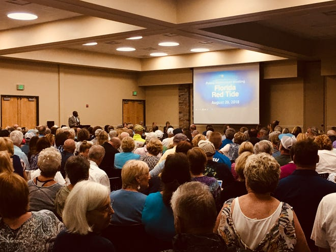 Over 300 people attended Collier County's red tide forum.