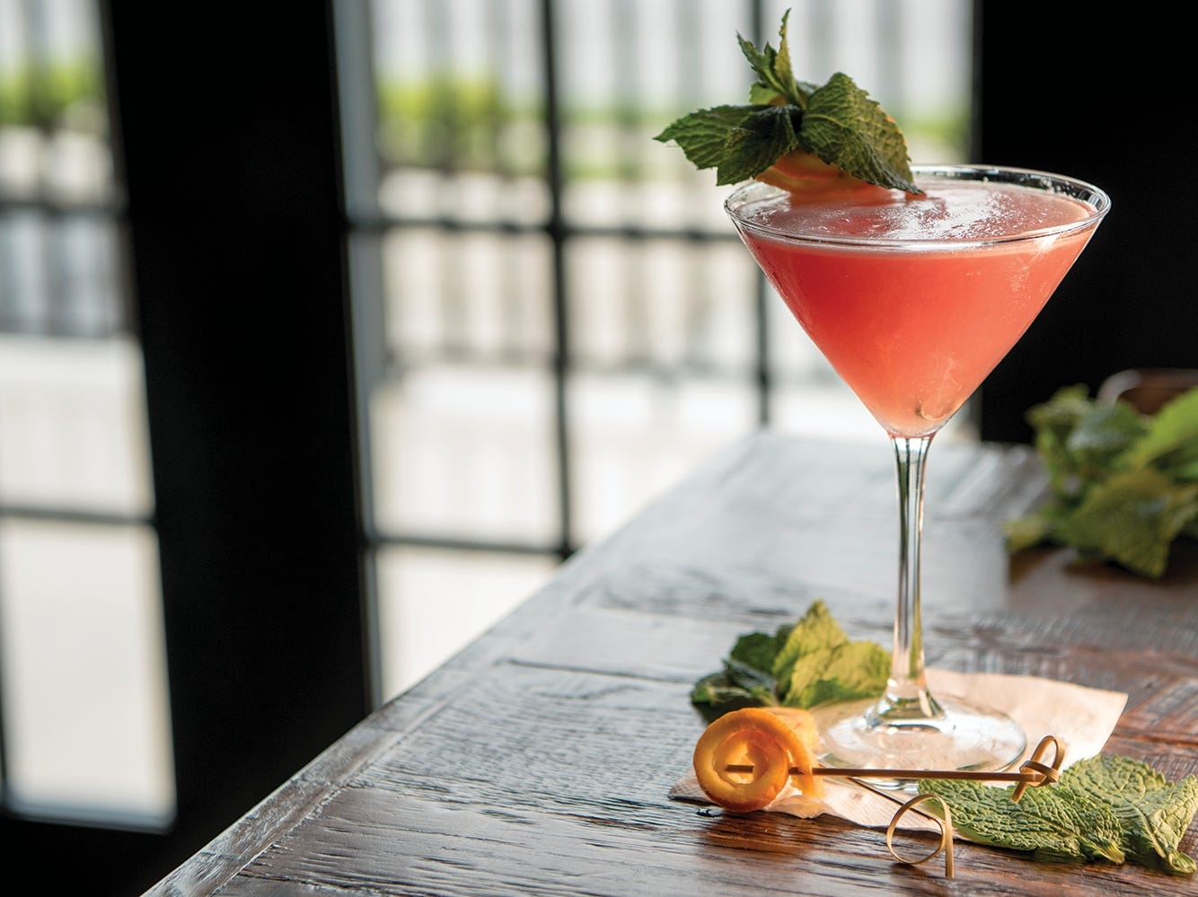 The French Hill Cosmo at Maggie's Town Tavern in Wayne, NJ shown on Thursday May 31, 2018.
