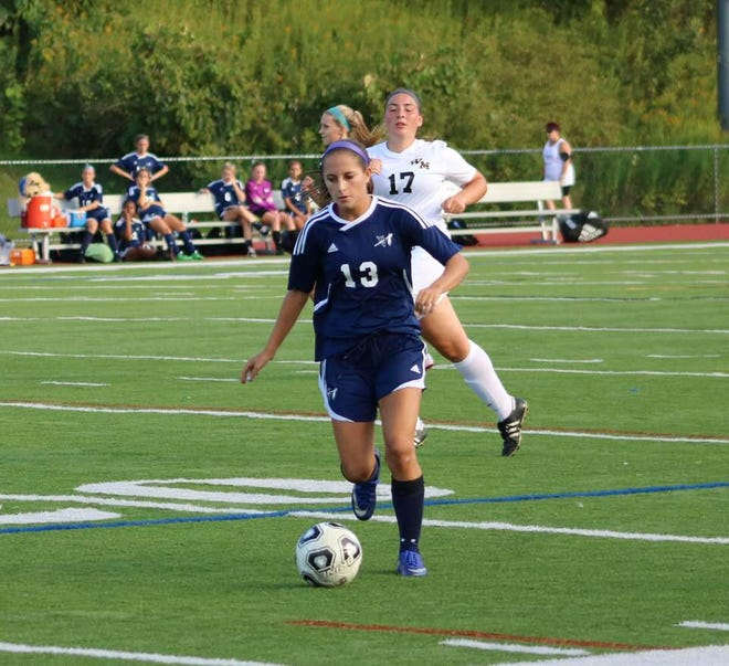 Wayne Valley's Sydney Rosenkrantz has 31 goals and 17 assists for her career.
