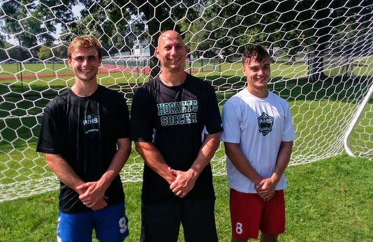 Passaic Valley boys soccer captains