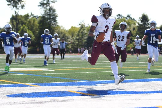 Running back Jalen Berger is one of the top players for Don Bosco.
