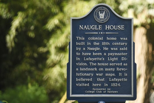 The historic Naugle House is undergoing a  restoration in Fair Lawn on Thursday August 30, 2018.