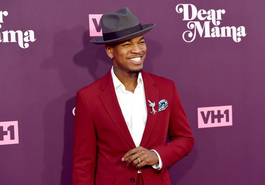 "In this May 3, 2018, file photo, Ne-Yo arrives at the 3rd annual ""Dear Mama: A Love Letter to Moms"" at The Theatre at Ace Hotel in Los Angeles."