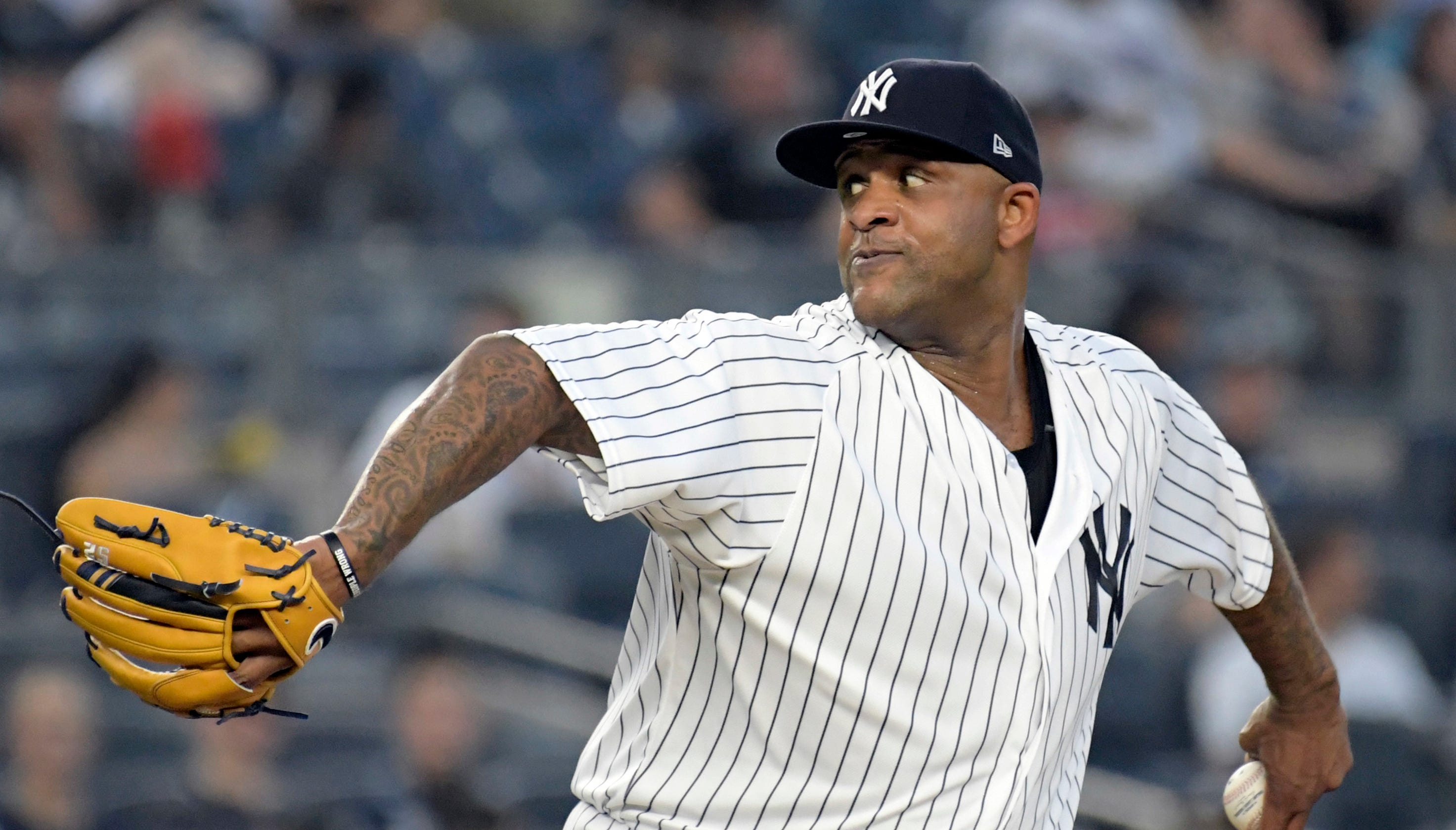 bcbbc5378 CC Sabathia returning to New York Yankees on one-year deal