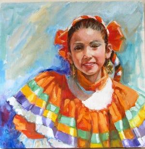 """""""Dancer"""" by Carolyn Bunch"""