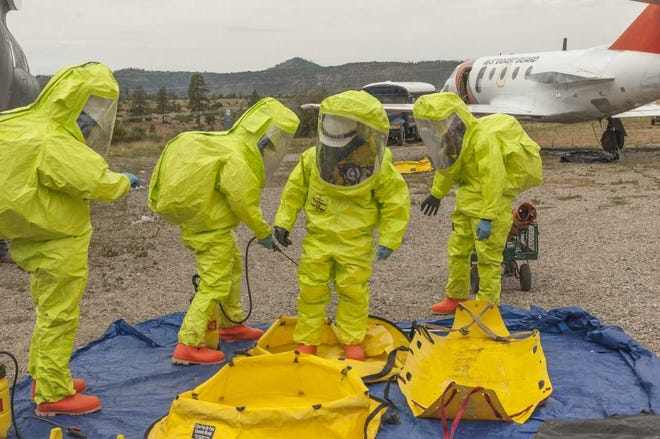 The Las Cruces Fire Department's Hazmat Response Team placed second in the 22nd Annual Hazmat Challenge