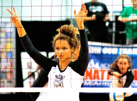 Senior Jaeda Porter returns for the three-time defending Class A champion Novi girls volleyball team.