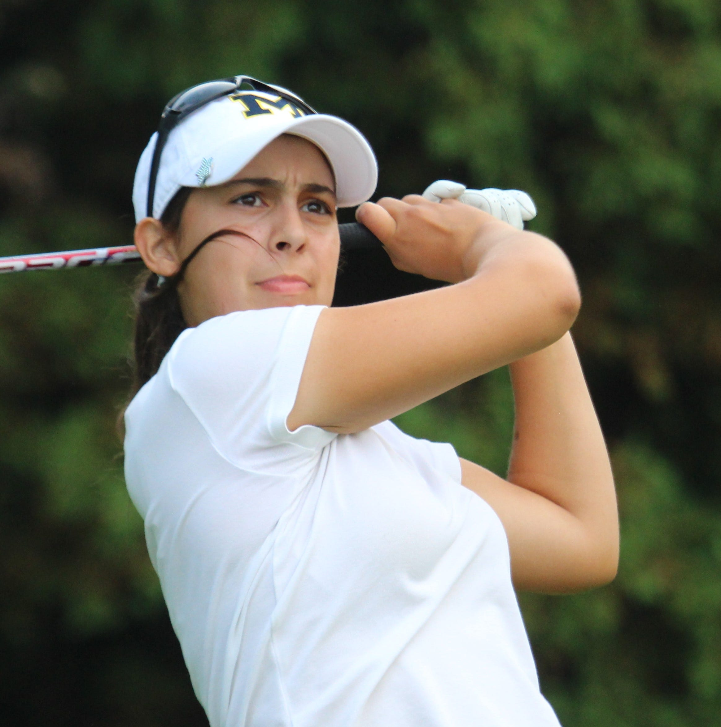 U-M commit Schulz driving for a big golf season in her final year