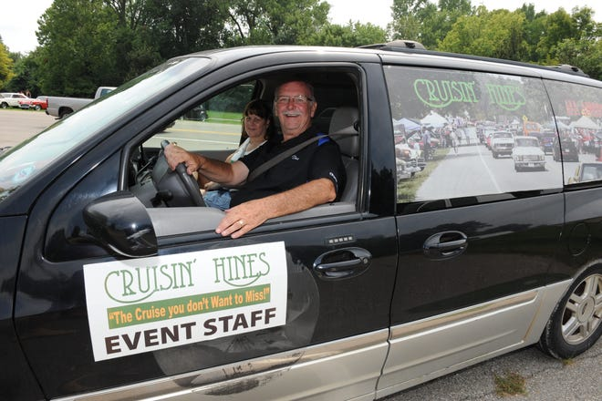 Don Nicholson is all smiles after another successful Cruisin' Hines event Aug. 26.