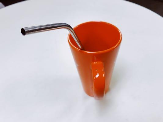 Magnum Steel stainless steel drinking straw