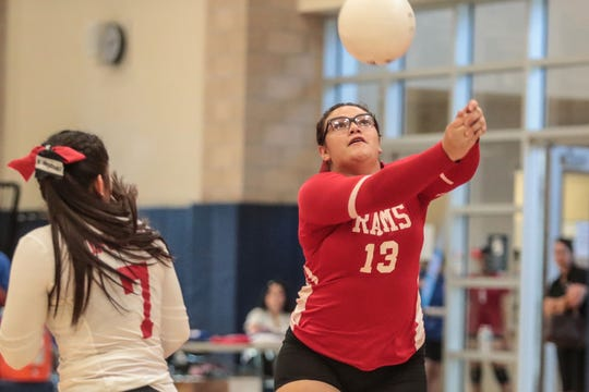 Desert Mirage and Indio volleyball action on Wednesday, August 29, 2018 in Indio.