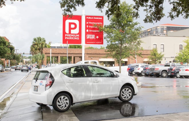 The Pensacola Downtown Improvement Board will vote next week on whether to switch parking app providers.