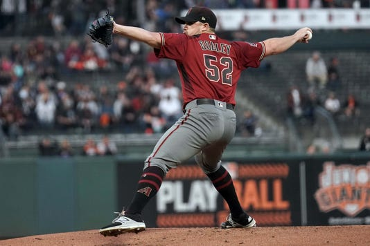 Mlb Arizona Diamondbacks At San Francisco Giants