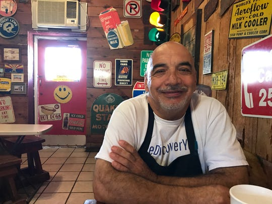 Joe Faillace, who owns a sandwich shop near the state Capitol, said he was grateful for John McCain's sacrifice.