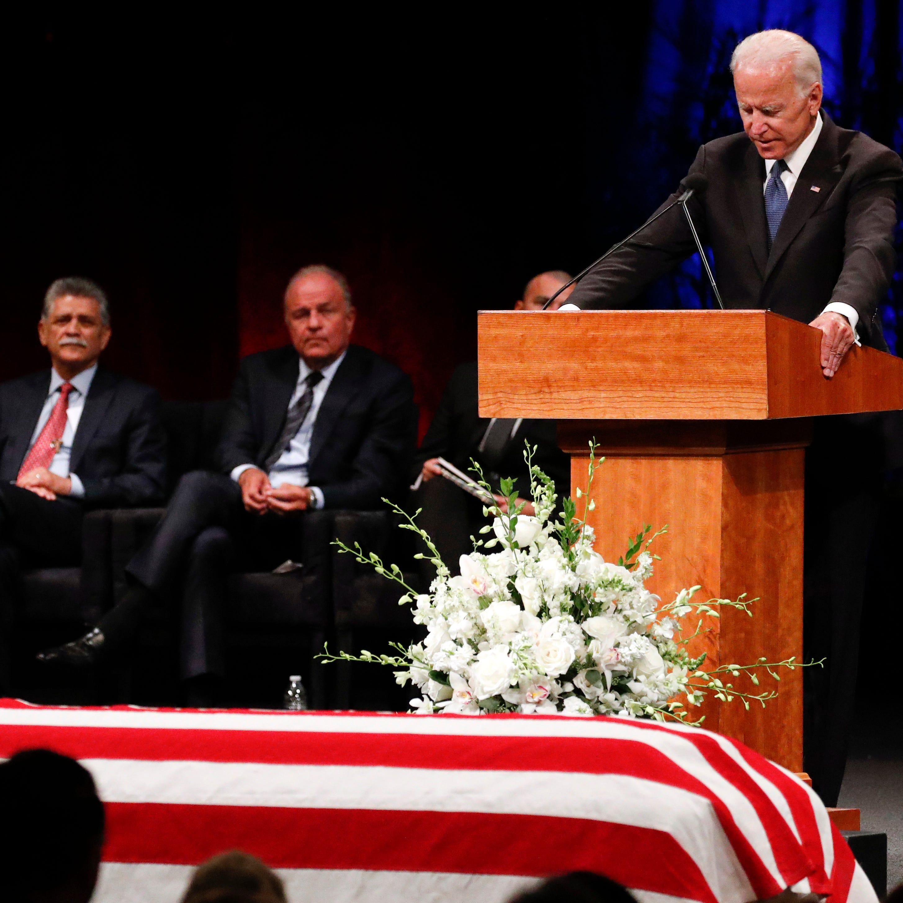 If you've lost someone close, you felt it at John McCain's Phoenix memorial service