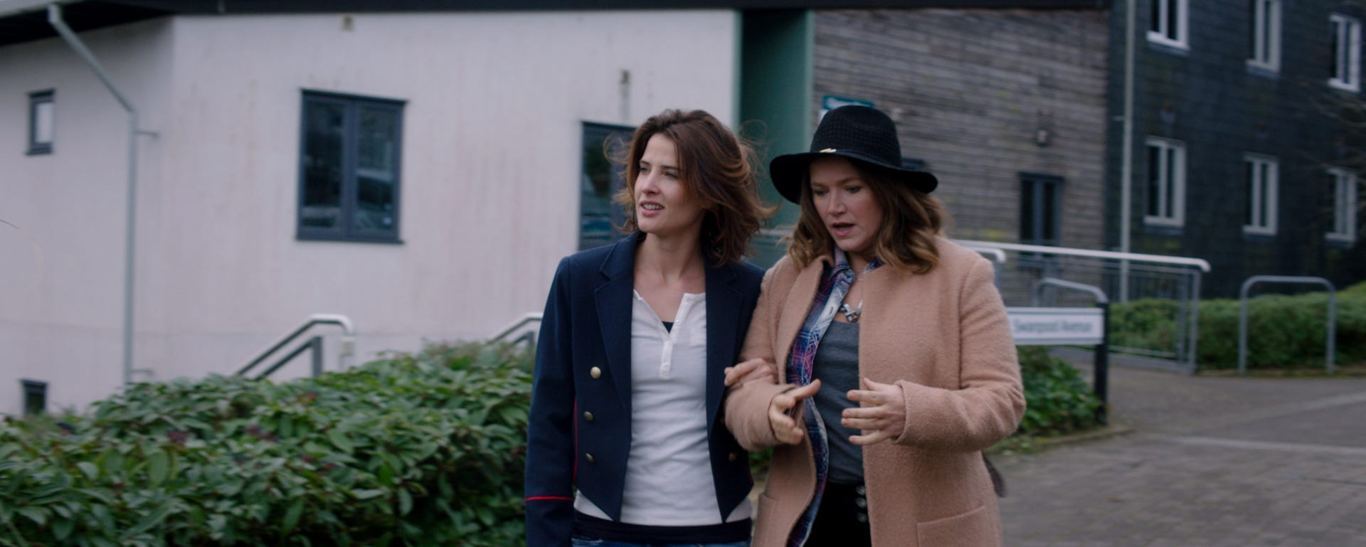 "Cobie Smulders (left) and Jessica Hynes star in ""Alright Now."""