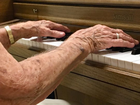 Edith Lively, who turned 100 this month, began playing piano at 5, taught by her mother and the Catholic nuns down the street.