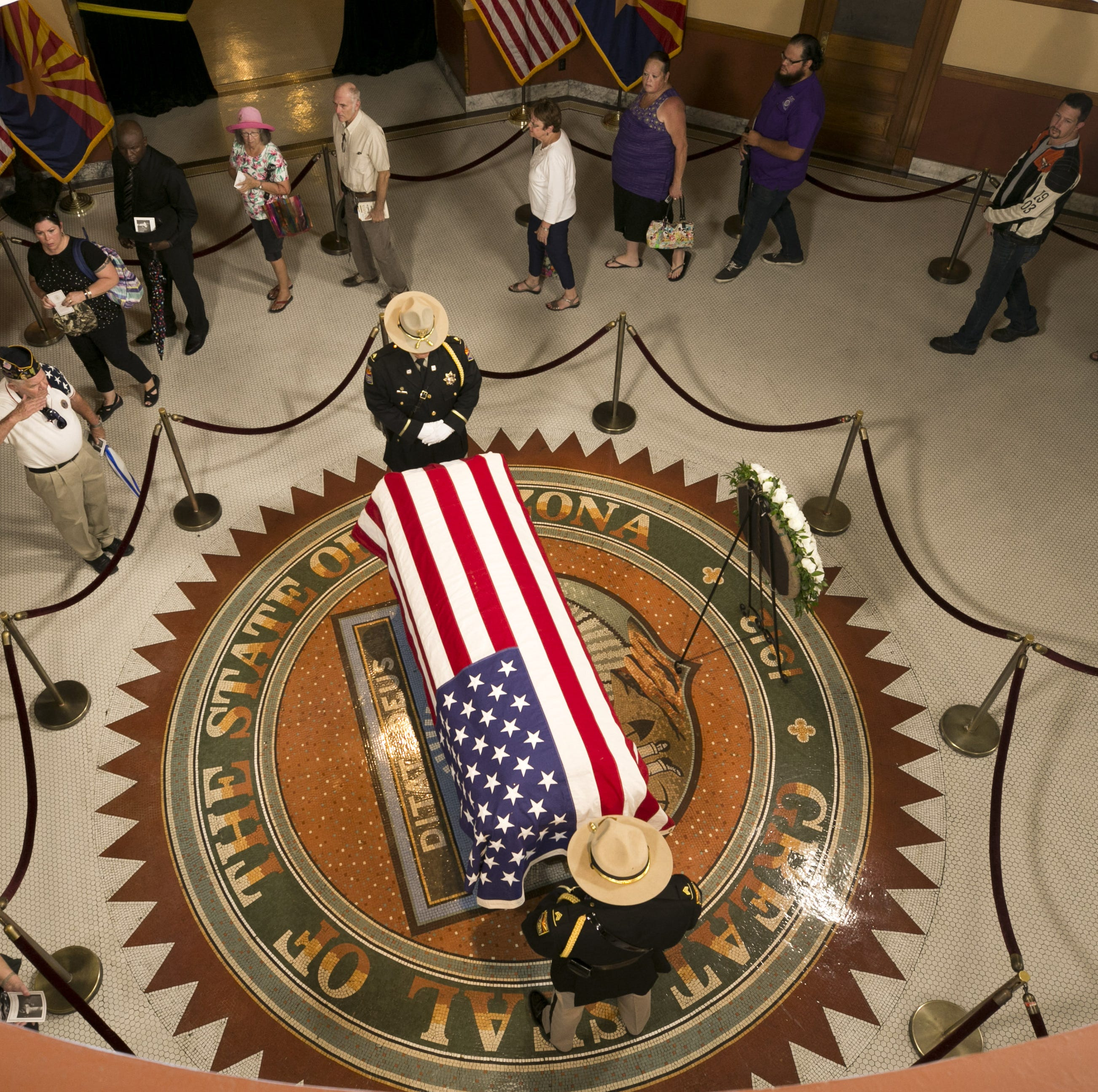 John McCain memorials in Washington, D.C.: 'I want to be there for his send-off'