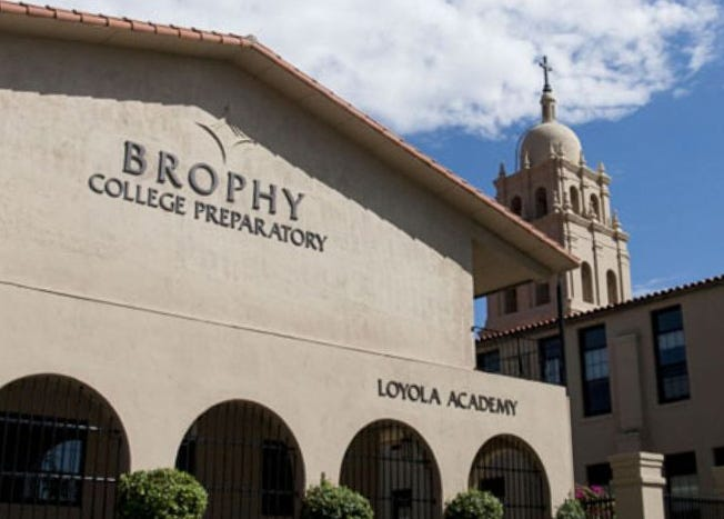 "Brophy Chapel Ensemble will sing ""Amazing Grace"" and ""Arizona"" at Sen. John McCain's memorial service Aug. 30, 2018."