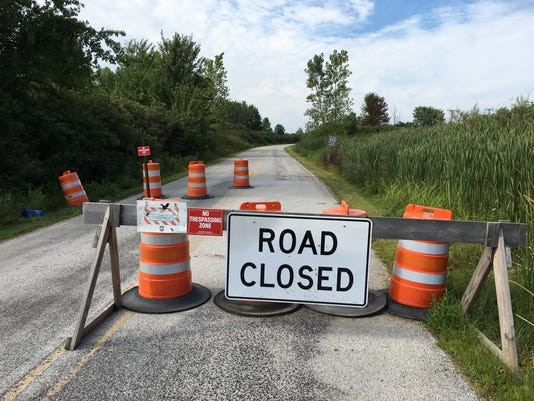 Marsh Road Closed 01